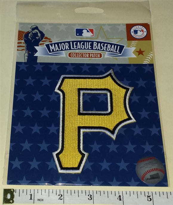 PITTSBURGH PIRATES OFFICIAL MLB BASEBALL AUTHENTIC EMBLEM CREST PATCH MIP