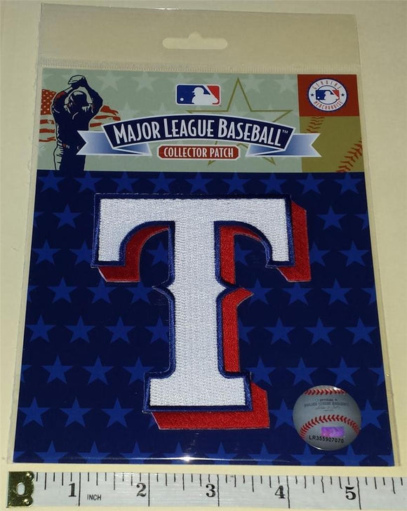 TEXAS RANGERS OFFICIAL MLB BASEBALL AUTHENTIC EMBLEM CREST PATCH MIP