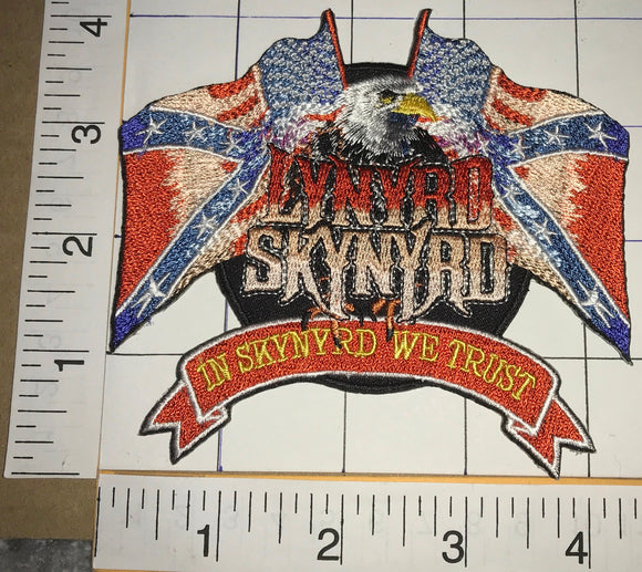 LYNYRD SKYNYRD IN SKYNYRD WE TRUST CONCERT EAGLE FREEBIRD MUSIC BAND PATCH