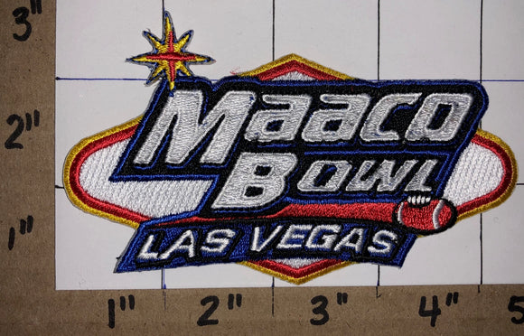 1 MAACO BOWL LAS VEGAS NCAA COLLEGE FOOTBALL CREST EMBLEM PATCH