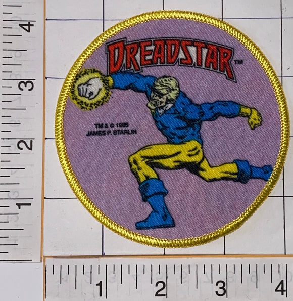 1 RARE 1985 DREADSTAR ALPHA FLIGHT SUPER HERO MARVEL COMICS GROUP EMBLEM PATCH