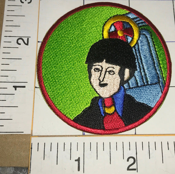 THE BEATLES PAUL McCARTNEY ANIMATED CARTOON SERIES ROCK MUSIC PATCH