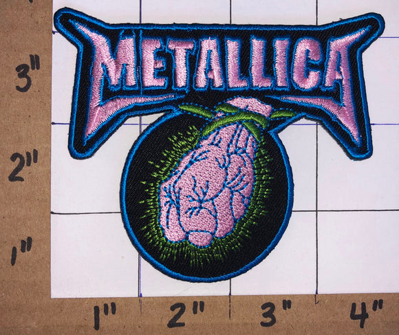 METALLICA AMERICAN HEAVY METAL ST.ANGER CONCERT MUSIC PATCH CRETS BADGE