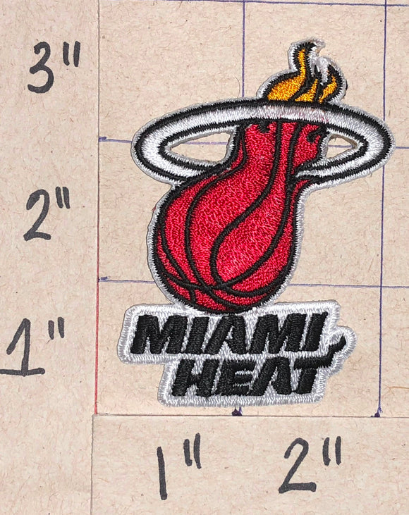 1 MIAMI HEAT NBA BASKETBALL CREST EMBLEM PATCH