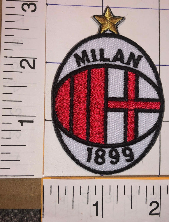 A.C. MILAN 1899 FIFA ITALIAN NATIONAL FOOTBALL LEAGUE UEFA SOCCER CREST PATCH