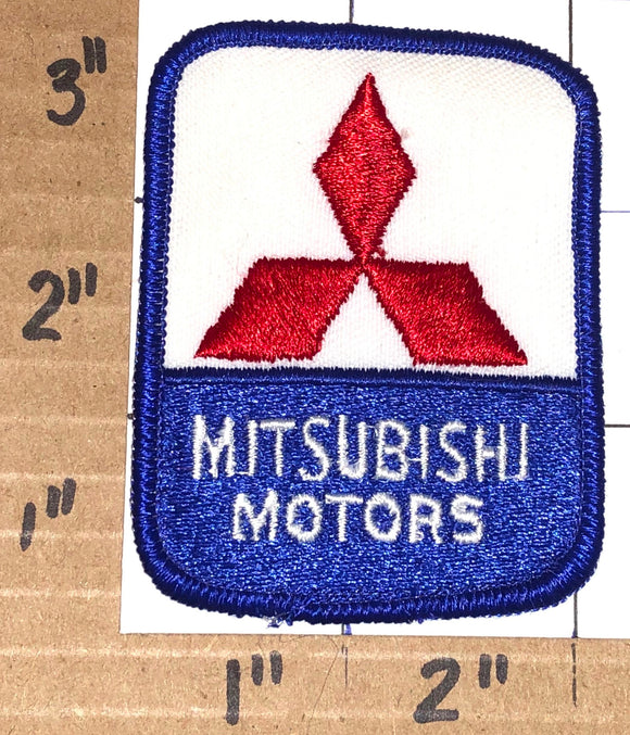1 MITSUBISHI MOTORS RALLY RACING OFF ROAD CREST EMBLEM PATCH