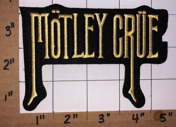 MOTLEY CRUE AMERICAN HEAVY METAL CONCERT MUSIC PATCH NIKKI SIXX TOMMY LEE MARS