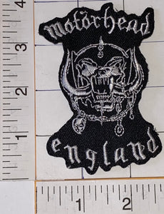 MOTORHEAD ENGLISH ENGLAND ROCK BAND CONCERT MUSIC EMBLEM PATCH