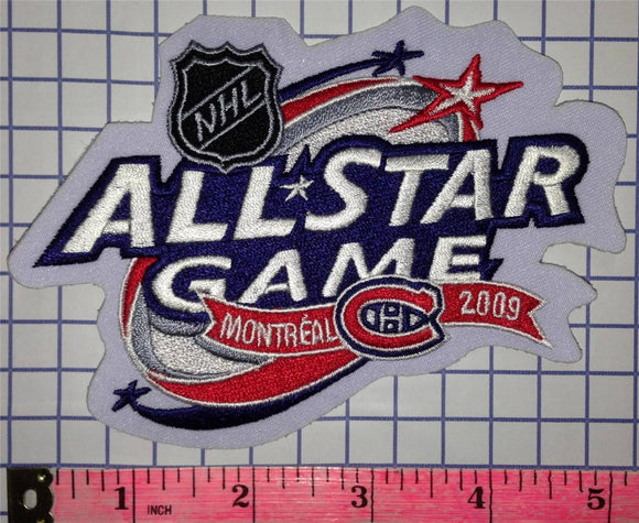 2009 MONTREAL CANADIENS ALL STAR GAME ENGLISH NHL HOCKEY BADGE CREST PATCH