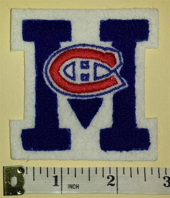 1 RARE VINTAGE MONTREAL CANADIENS CHENILLE NHL HOCKEY CREST BADGE PATCH