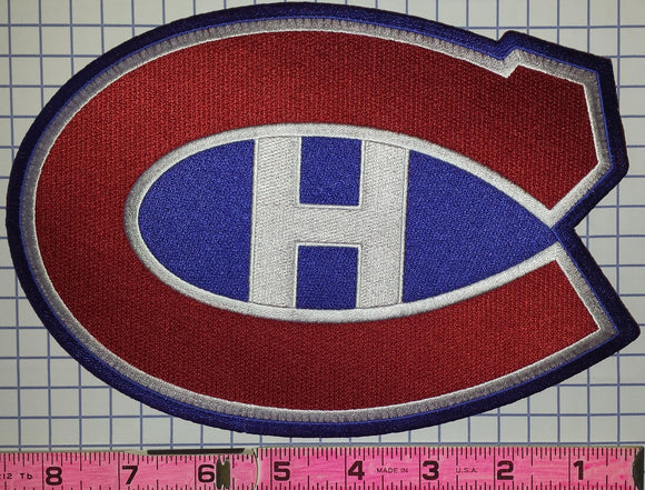 1 MONTREAL CANADIENS 8 INCH NHL HOCKEY CREST BADGE PATCH