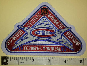 1993 MONTREAL CANADIENS 44TH NHL ALL STAR GAME NHL HOCKEY BADGE CREST PATCH