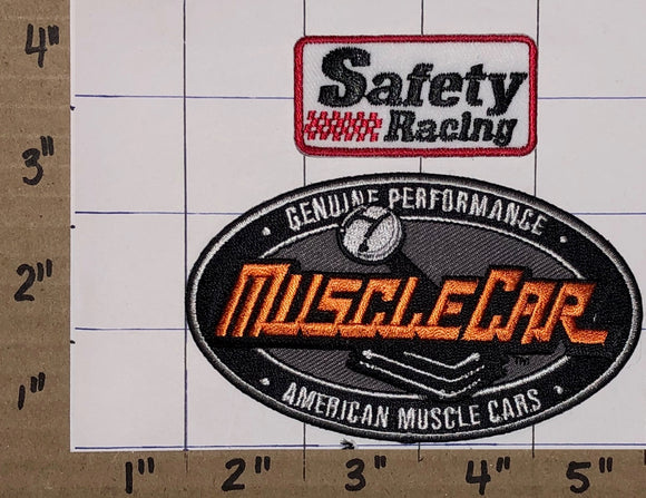 1980 VINTAGE MUSCLE CAR NASCAR SAFETY RACING MOPAR CHEVY AUTO CREST PATCH LOT