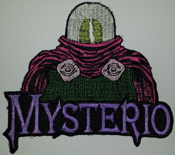 MYSTERIO MARVEL COMICS SUPERVILLAIN SPIDER MAN ARCHENEMY CREST PATCH