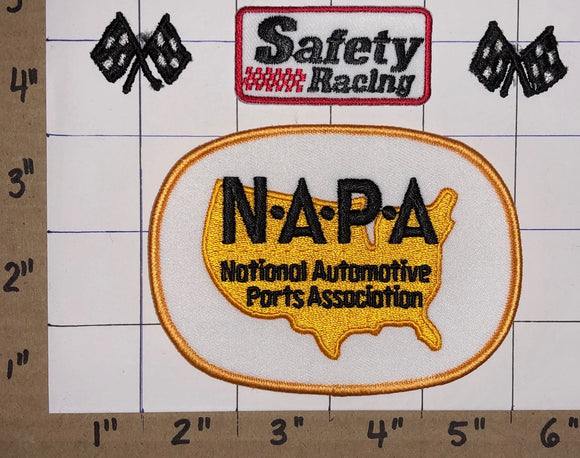 4 NAPA AUTO PARTS RACING NASCAR NHRA HAT JACKET MICHAEL WALTRIP CREST PATCH LOT
