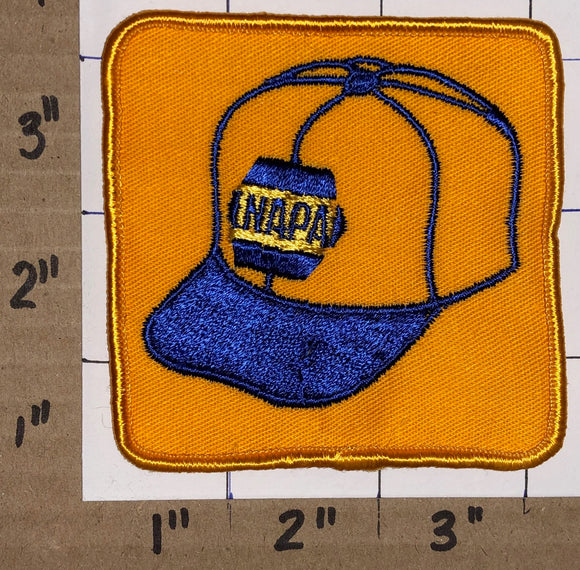 NAPA AUTO PARTS RACING NASCAR NHRA INDY HAT JACKET MICHAEL WALTRIP CREST PATCH