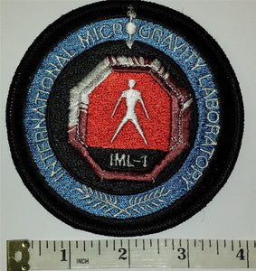 1 VINTAGE STS 42 IML-1 MICRO-GRAVITY LAB SPACE SHUTTLE MISSION NASA PATCH