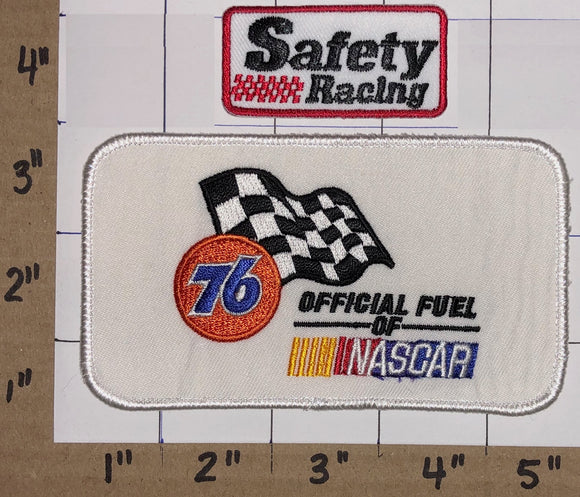 PHILLIPS 76 OIL GAS OFFICIAL FUEL OF NASCAR RACING NHRA CREST EMBLEM PATCH LOT