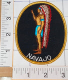 1970's VINTAGE NATIVE INDIAN NAVAJO WARRIOR CREST PATCH