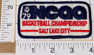 1979 NCAA BASKETBALL CHAMPIONSHIP SALT LAKE CITY MAGIC JOHNSON BASKETBALL PATCH