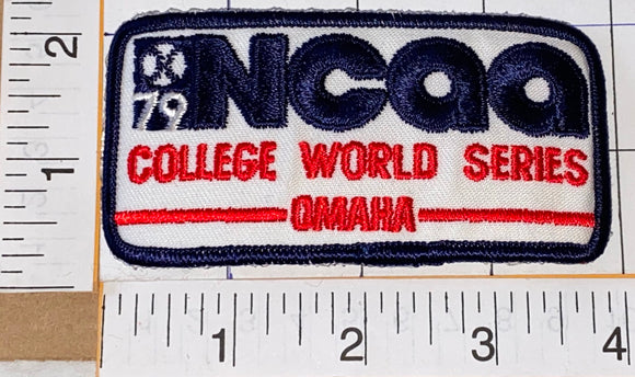 1 RARE 1979 NCAA COLLEGE WORLD SERIES CAL STATE FULLERTON CHAMPIONS OMAHA PATCH