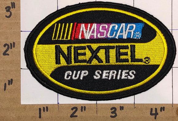 1 NASCAR NEXTEL CUP RACING BLACK CREST EMBLEM PATCH