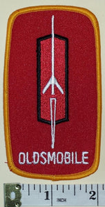 1 OLDSMOBILE MUSCLE CAR AMERICAN AUTOMOBILES GM LUXURY CREST EMBLEM PATCH
