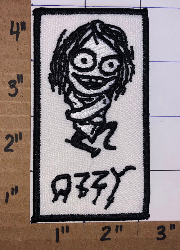 OZZY OSBOURNE AMERICAN HEAVY METAL CONCERT MUSIC PATCH STRAIGHT JACKET