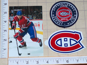 MAX PACIORETTI MONTREAL CANADIENS NHL HOCKEY POSTCARD DECAL PATCH VEGAS KNIGHTS