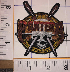 1 PANTERA AMERICAN HEAVY METAL TEXAS CONCERT ALBUM MUSIC CREST PATCH