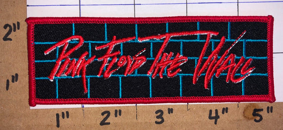 PINK FLOYD THE WALL ALBUM CONCERT MUSIC PATCH WATERS GILMOUR WRIGHT MASON