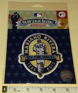 OFFICIAL MLB NEW YORK YANKEES MARIANO RIVERA RETIREMENT 1995-2003 PATCH MIP