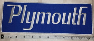 1 HUGE PLYMOUTH CHRYSLER AUTOMOBILE TRUCKS CAR CREST EMBLEM PATCH LOT