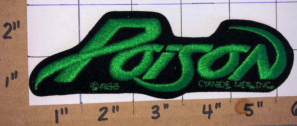 POISON AMERICAN HARD ROCK MUSIC BAND CONCERT PATCH