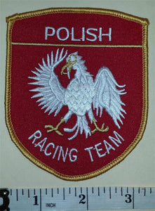 1 POLISH RACING TEAM PRDA CREST EMBLEM PATCH