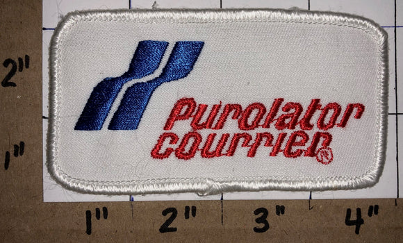 PUROLATOR COURIER EMPLOYEE BADGE CREST PATCH CANADA POST SHIPPING SERVICE