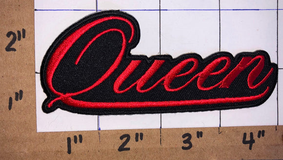 QUEEN FREDDIE MERCURY POP ROCK MUSIC CREST EMBLEM PATCH