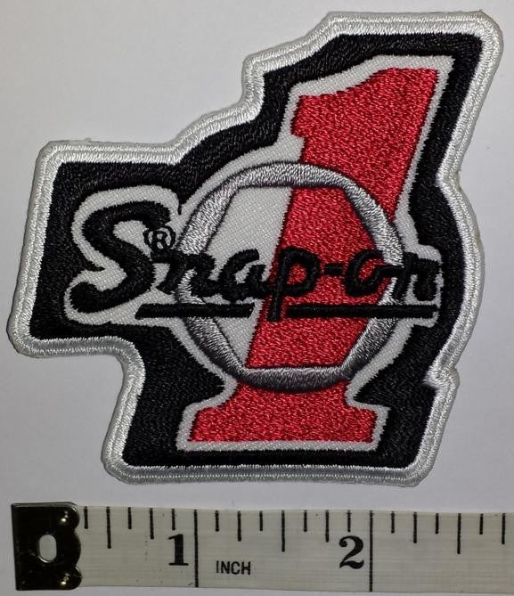 #1 SNAP-ON SNAP ON AUTOMOTIVE RACING POWER TOOLS FORMULA 1 GRAND PRIX PATCH