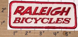 1 RALEIGH BICYCLES TOUR DE FRANCE BIKE CYCLES RACING CREST EMBLEM PATCH