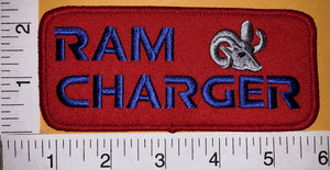1 DODGE RAM CHARGER MUSCLE CAR SPORT CHRYSLER AMERICAN CREST EMBLEM PATCH LOT