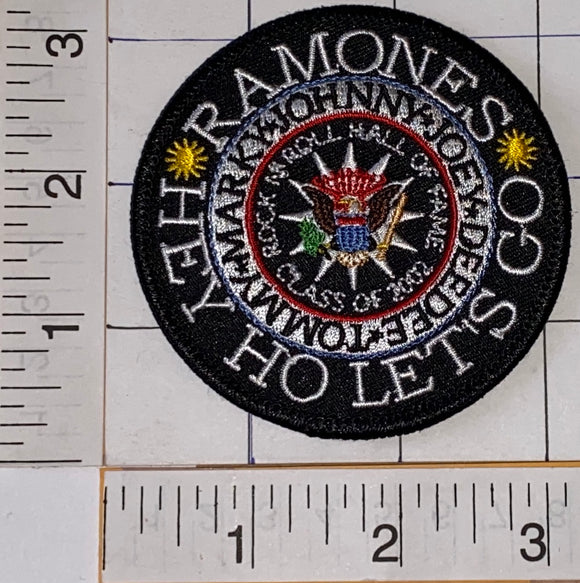 THE RAMONES  JOHNNY TOMMY MARKY JOEY AMERICAN PUNK ROCK MUSIC BAND PATCH