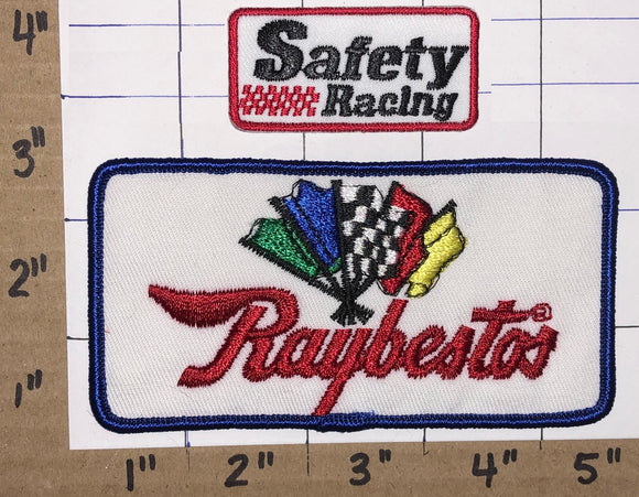 RAYBESTOS AUTOMOTIVE BRAKES AUTO SAFETY RACING NASCAR EMBLEM PATCH LOT