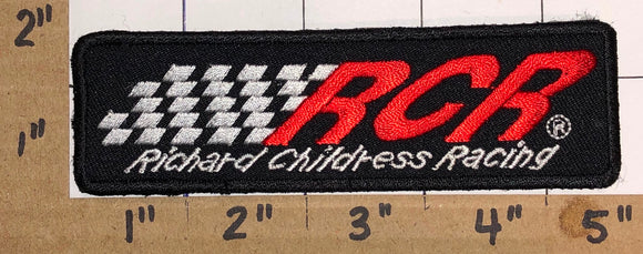 1 RCR RICHARD CHILDRESS RACING NASCAR NHRA INDY CREST EMBLEM PATCH
