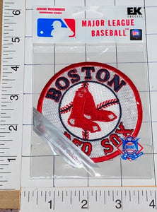 1 MIP BOSTON RED SOX MLB BASEBALL EMBROIDERED STICKER PATCH MINT IN PACKAGE