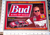 RICKY CRAVEN BUD KING OF BEERS BUDWEISER RACING WILLABEE & WARD NASCAR PATCH