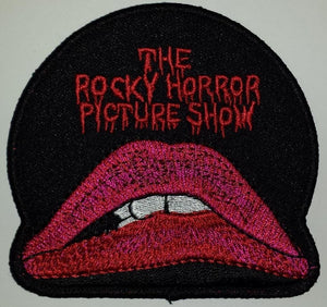 THE ROCKY HORROR PICTURE SHOW MUSICAL COMEDY HORROR FILM CREST EMBLEM PATCH