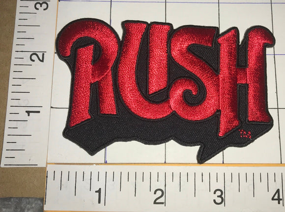 RUSH ROCK MUSIC CONCERT BAND PATCH GEDDY LEE NEIL PEART ALEX LIFESON