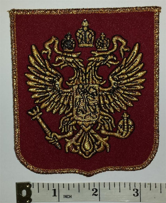 1 RUSSIA LOGO WINTER OLYMPICS JUNIOR HOCKEY EMBLEM CREST PATCH