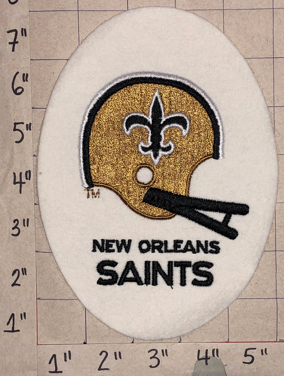 1 NEW ORLEANS SAINTS NFL FOOTBALL FELT CREST EMBLEM PATCH