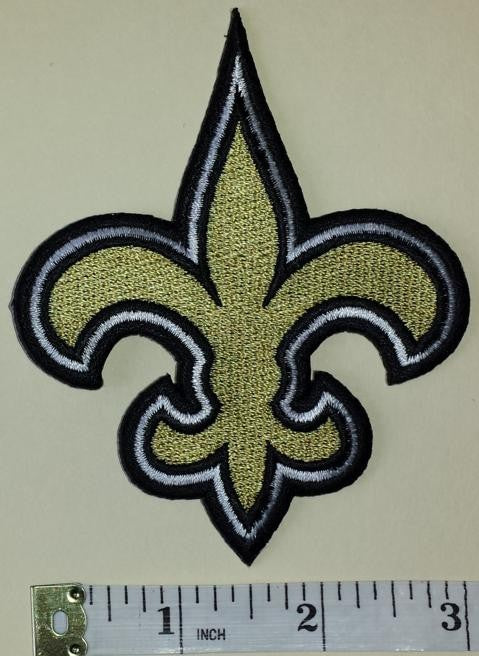 1 NEW ORLEANS SAINTS NFL FOOTBALL CREST EMBLEM PATCH